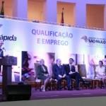 Alckmin em evento do programa (Foto: Divulgação)