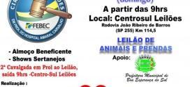 Boa Esperança realiza 4º Leilão beneficente em prol do Hospital Amaral Carvalho de Jaú