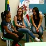 Estudantes de Trabiju contam que sabem da importância do voto (Foto: Ely Venâncio/ EPTV)