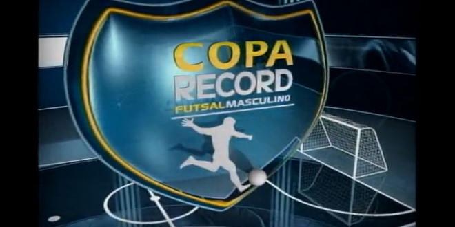 Ribeirão Bonito disputará a Taça Record de Futsal