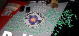 Polícia localiza grande quantidade de drogas