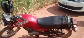 Polícia Militar evita roubo e recupera moto furtada