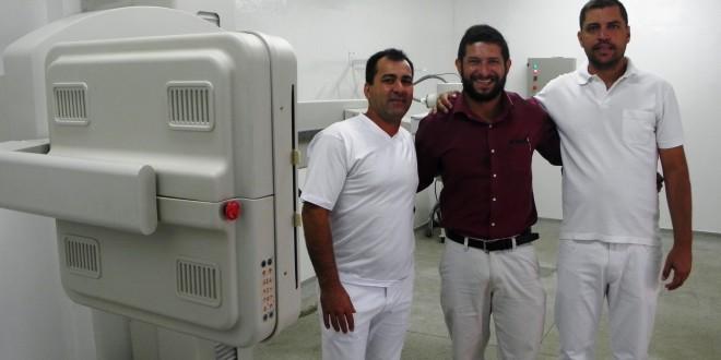 Aparelho de Raio-X está em funcionamento no Hospital de Dourado