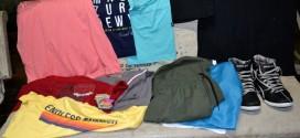Polícia Militar recupera roupas furtadas de loja