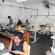 Alunas do curso de Costureira Industrial produzem lençóis para os CIMEIs