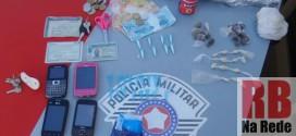 Polícia Militar estoura ponto de tráfico de drogas