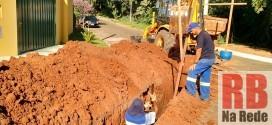 Sabesp realiza obras no Parque Dourado I