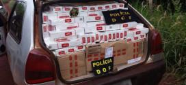 Veículo de Ribeirão Bonito é flagrado com R$ 50 mil em cigarro