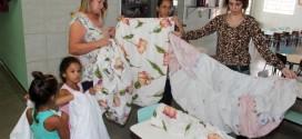 CIMEIs de Boa Esperança do Sul recebem novos lençóis e fronhas para as crianças