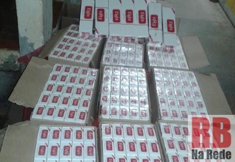 Polícia Militar apreende veículo com 5.000 maços de cigarros contrabandeados em Ribeirão Bonito