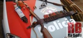Apreensões de armas de fogo aumentam no primeiro semestre em Ribeirão Bonito