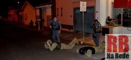 PM de Dourado realiza treinamento de combate à explosão de caixas eletrônicos
