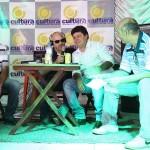 Prefeito Fabricio Vanzelli na entrevista a Edmilson de Oliveira (Foto: Antonio L.Teixeira)