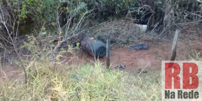 Corpo é encontrado dentro de tambor entre Guarapiranga e Araraquara