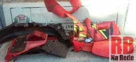 Polícia localiza partes de moto furtada em Ribeirão Bonito