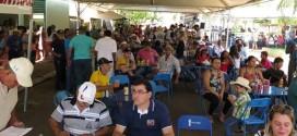 Cavalgada, leilão e show fecham a Festa de Santana em Trabiju