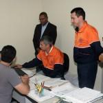 Integrantes explicaram os procedimentos a ser realizados em casos de desastres (Foto: Divulgação)