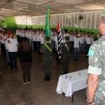 Foram 122 jovens alistados que receberam o certificado (Foto: Divulgação)
