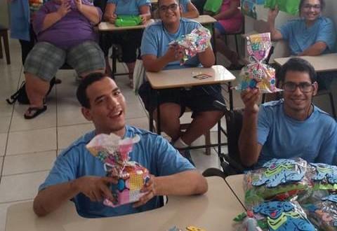 Apae de Ribeirão Bonito comemora Dia das Crianças com festa
