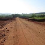 Todo o trecho da estrada pertencente ao município de Trabiju será reformado (Foto: Antonio L. Teixeira)