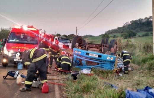 Homem morre após acidente entre Guarapiranga e Araraquara