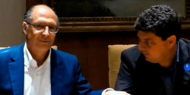 Prefeito de Trabiju se reúne com governador