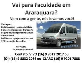 Vai para faculdade em Araraquara?