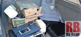 Rapaz é preso pela PM com objetos furtados em Ribeirão Bonito
