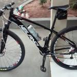 Outra bicicleta que foi roubada (Foto: RB Na Rede)
