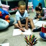 Crianças agora tem um espaço próprio no Posto de Saúde do Centro (Foto: Divulgação)