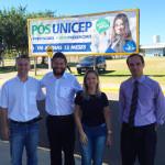 Prefeito participou de encontro com coordenadores da Unicep para acertar detalhes da campanha de castração de cães e gatos (Foto: Divulgação)
