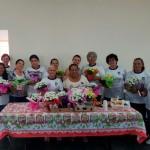 Frequentadoras do Centro do Idoso também foram homenageadas (Foto: Divulgação)