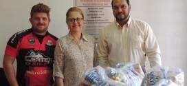Rota RB entrega cestas básicas ao Fundo Social de Ribeirão Bonito