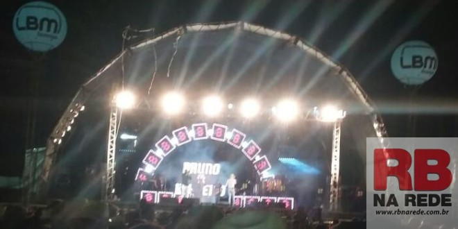 Bruno e Barreto levam multidão e animam o Rodeio Dourado Show