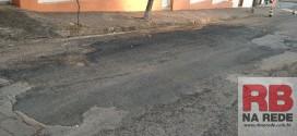 Prefeitura conserta imperfeições no asfalto em Ribeirão Bonito