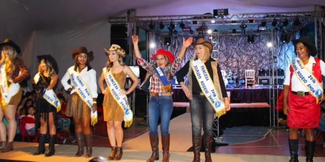 Eleitas as rainhas do Dourado Rodeio Show  d72b738b9df