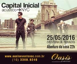 Capital Inicial na Oasis Eventos