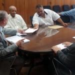 Edson Raminelli com o secretário estadual de Educação (Foto: Divulgação)
