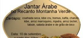 Recanto Montanha Verde apresenta culinária árabe em Ribeirão Bonito