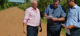 Prefeitos eleitos solicitam pavimentação de estrada que liga Ribeirão Bonito à Trabiju