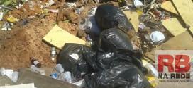 Irresponsabilidade no descarte do lixo em Ribeirão Bonito