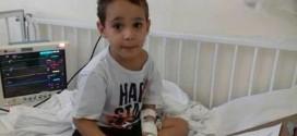 Ribeirão Bonito: Menino que faz tratamento contra tumor na cabeça precisa de ajuda