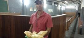Tradicionais pastéis do Deolindo em Ribeirão Bonito