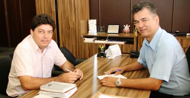 Ex-prefeito de Trabiju visita presidente da Câmara de Araraquara