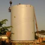 Caixa de água do JArdim São Paulo (Foto: Arquivo RB Na Rede)