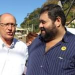 Fabião junto com Geraldo Alckmin (Foto: Divulgação)