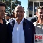 Antonio Carlos e Giovani fizeram reivindicações ao governador (Foto: Lucas Castro)