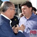 Fabrício conversou com o Geraldo Alckmin (Foto: Lucas Castro)