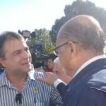 Juca conversa com o governador Geraldo Alckmin (Foto: Divulgação)