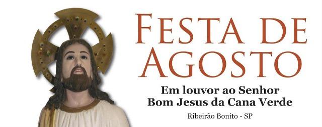 Festa de Agosto em Ribeirão Bonito movimentará a cidade